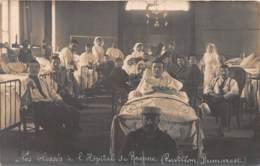 42 - LOIRE / Roanne - 421675 - Carte Photo - Blessés à L' Hôpital - Pavillon Dumarest - Roanne