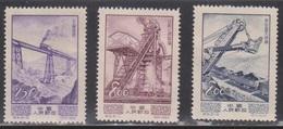 PR CHINA Scott # 216, 218-9 MNG - 1949 - ... République Populaire