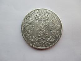Belgie 5 Francs 1858 Leop I - 1831-1865: Léopold I