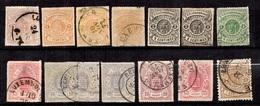 Luxembourg Belle Petite Collection De Classiques 1865/1880. Bonnes Valeurs. B/TB. A Saisir! - Collections