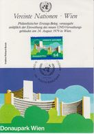 UNO Vienna 1979 Donaupark Wien 1v Maxicard (41369) - Maximumkaarten
