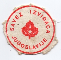 Patch Scout Association Of Yugoslavia Scouting Scouts - Scoutisme