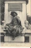 PARIS - Le Monument D'Alexandre Dumas - Statues
