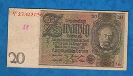 Germania 20 Marchi Weimar 1929 20 Mark - [ 3] 1918-1933 : Weimar Republic