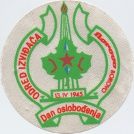 Self Adhes. Patch Unit Scout Borovo Croatia Yugoslavia Scouting - Scoutisme