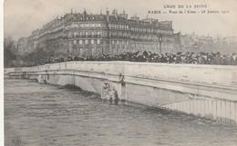 75 Paris. Crue De La Seine. Pont De L'Alma 28 Janvier 1910 - Frankreich