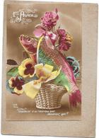 CPA  COLORISEE FETE -  1er AVRIL - Souvenir D'un Heureux Jour Devinez Qui ?  -  DELC6/ENCH - - April Fool's Day