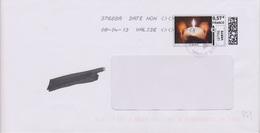 Toshiba 37668A Date Non Valide Du 08-04-13 (timbre En Ligne Bougie) - Maschinenstempel (Sonstige)