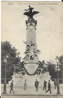 PARIS - Monument De Gambetta Plac Du Carrousel - Statues