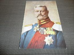 Guerre ( 294 ) Oorlog Weltkrieg 1914 - 1918  Personne Allemand  Deutsche Soldat  Von Hindenburg - Personnages