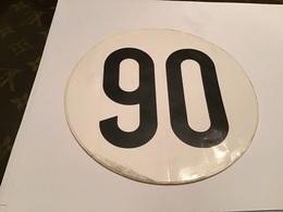 Autocollant 90 - Aufkleber