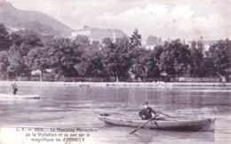 74 - Haute Savoie -  ANNECY Le Nouveau Monastere De La Visitation Et Sa Vue Sur Le Lac - Annecy