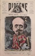Revue Journal Diogène  Satirique Caricature  N° 9 De 1867 Emmanuel GONZALES Par Meyer - Journaux - Quotidiens