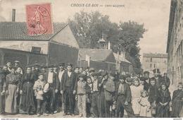94) CHOISY-LE-ROI : Cristallerie - Ouvriers (1906) Coin Bas Droit Plié - Choisy Le Roi