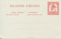 RUANDA URUNDI PS STIBBE 26 UNUSED - Entiers Postaux