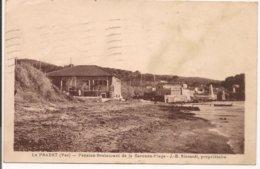 L150B_1415 - Le Pradet - Pension-Restaurant De La Garonne-Plage -J.-B. Siccardi, Propriétaire - Le Pradet