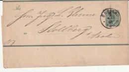 ENTIER POSTAL - BANDE Pour JOURNAUX - Breslau  04/12/1886 - Deutschland