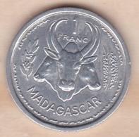 MADAGASCAR - UNION FRANCAISE. 1 FRANC 1948. ALUMINIUM - Madagascar