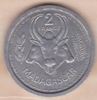 MADAGASCAR - UNION FRANCAISE. 2 FRANCS 1948. ALUMINIUM .SUP/ XF - Madagascar