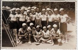 FASCISMO GRUPPO OPERA NAZIONALE BALILLA - FOTOCARTOLINA ORIGINALE 1938 - War, Military
