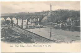 NY - NEW YORK CITY - High Bridge & Croton Waterworks - Ponts & Tunnels