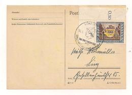 Postkarte - 1.11.1943  - Von Linz Nach Linz - Alemania