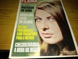 Revista Portuguesa, Magazine Portuguese- Flama.- 1968 - Revues & Journaux