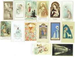 Image Religieuse, Lot De 15 Images. Communion, Illustrateur... - Imágenes Religiosas