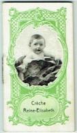 Calendrier Publicité. Crèche Reine-Elisabeth. 1925 - Calendriers