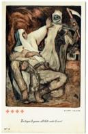 Croix Rouge. Illustrateur : Allard L'Olivier. En Temps De Guerre, Elle Lutte Contre La Mort. - Croix-Rouge
