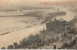 34 - BÉZIERS - LA CRUE DE L'ORB (7 NOVEMBRE 1907) - LA VALLÉE SOUS LES EAUX - Beziers