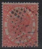 1863 De La Rue 2 L. US - 1861-78 Vittorio Emanuele II