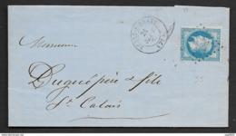 Sarthe-Lettre (Manufacture De Futaines) De Bessé-s-Braye Pour St Calais-N°29 - Postmark Collection (Covers)