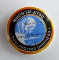 FEVE PUBLICITAIRE PERSO BOULANGERIE OPPENEAU NIHON TAI-JITSU CLUB DE PIERRELAYE 95 - Antiche