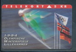 DÄNEMARK  Telefonkarte  Olympia - Siehe Scan -10779 - Olympische Spelen