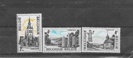 België 1974 Y&T  Nr 1734/1736 (**) - Belgium