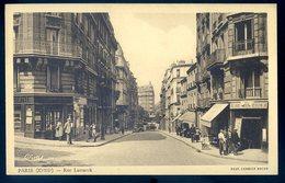 Cpa Du 75 Paris 18ème Rue Lamarck    GX19 - Arrondissement: 18