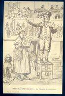 Cpa Du 17  Types Saintongeais  -- Le Chanteur De Complaintes  Illustrateur Tourémis   GX19 - Autres Communes