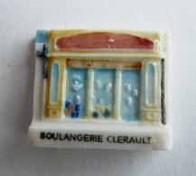 FEVE PUBLICITAIRE PERSO BOULANGERIE CLERAULT LA BAULE ESCOUBLAC 44 - Olds