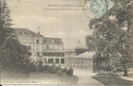 MARTIGNY LES BAINS , Pavillon De La Source Et Grand Hôtel , 1905 - France