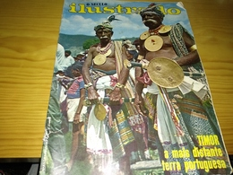 "Revista Portuguesa, Magazine Portuguese- O Século Ilustrado, ""Timor A Mais Distante Terra Portuguesa"".- 1967 - Livres, BD, Revues"