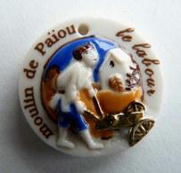 FEVE PUBLICITAIRE PERSO MOULIN DE PAÏOU MEDAILLON LE LABOUR - Frühe Figuren