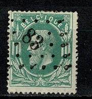 Belg.  30  Pt 83 Ciney COBA + 3 - 1869-1883 Léopold II
