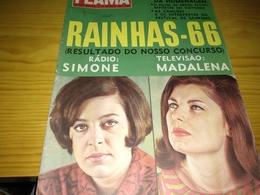 """Revista Portuguesa, Magazine Portuguese- Flama, """"Rainhas 66, Vicente O Dia Da Homenagem"""".- 1967 - Livres, BD, Revues"""