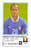 Card (no Sticker) Sebastian Giovinco Italia Brazil FIFA 2014 Bosnia Edition Football World Cup FC Juventus - Stickers