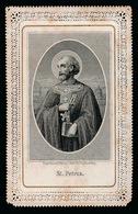 HEILIG PRENTJE - ST. PETRUS  10 X 6.5 CM - 2 SCANS - Andachtsbilder