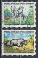 °°° CAMERUN - Y&T N°843/44 - 1991 °°° - Camerun (1960-...)