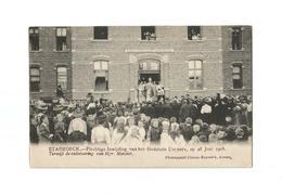 STABROECK.- Inwijding Godshuis Cuypers Op 28 Juni 1908. Terwijl De Redevoering Van Mgr. Mercier. - Stabroek