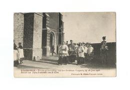 STABROECK.- Inwijding Godshuis Cuypers Op 28 Juni 1908. Bezoek Van Zijne Eminentie Aan De Kerk. - Stabroek