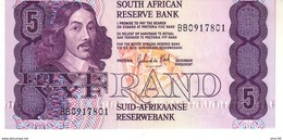 South Africa P.119d 5 Rand 1978-94 Unc - South Africa
